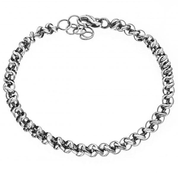 Rebel Armband - Silberschmuck - made in Italy - Athena Gioielli